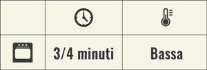 Griglia cottura forno 3/4 minuti